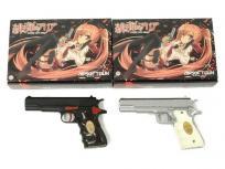 WA ガバメント 緋弾のアリア モデル ブラック シルバー ガスブローバック 2丁 セットの買取