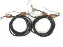 TANNOY タンノイ スピーカーケーブル TRC-300 ペア 音響機材 バナナプラグ 訳有の買取