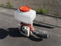 愛知県 一宮市 共立 散布機 DMC801 背負動力散布機 大排気量 動作未確認 農機具