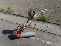 愛知県 一宮市 大島農機 溝切機 M140 水田用溝切機 農機具 動作未確認