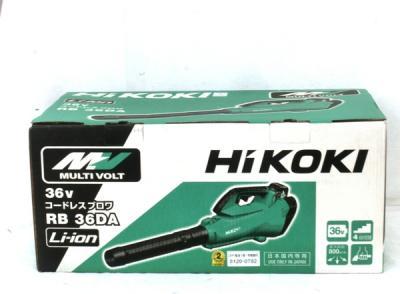 HiKOKI 日立工機 RB36DA XP コードレスブロワ 36V バッテリー 充電器 セット 電動工具