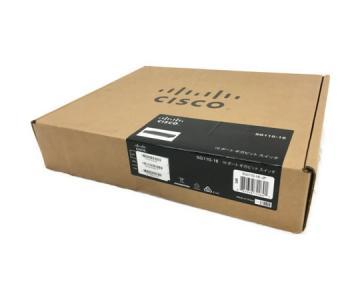 未開封 Cisco Small Business SG110-16-JP PCハブ 16ポート ギガビット スイッチ