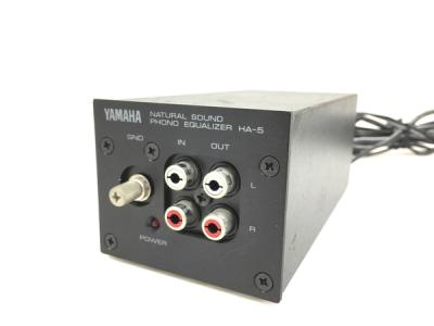 YAMAHA ヤマハ HA-5 イコライザー オーディオ 音響