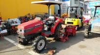 佐賀県 神埼市 三菱 MT240 トラクター ロータリー RA145 4WD ディーゼル 828h パワステ 倍速 ポンパ 農機具 農業機械の買取