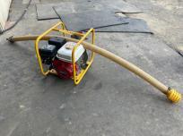 鳥取県 鳥取市 マツサカエンジニアリング QPポンプ 水中ポンプ QP-204 口径50mm 現状品 エンジン始動 未確認