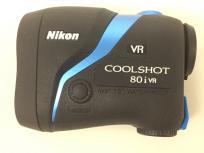 Nikon ニコン COOLSHOT 80i VR LCS80IVR ゴルフ用 レーザー 距離計の買取