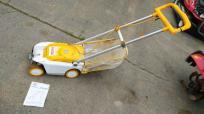 長野県 長野市 リョービ LMR-2300 電動草刈り機 ロータリー式 通電OK 農機具