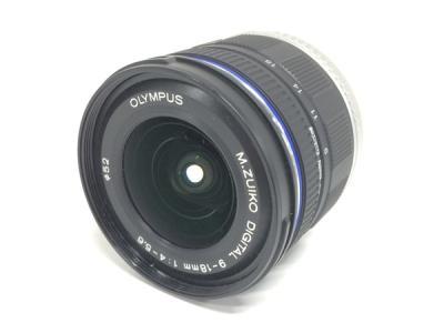 OLYMPUS M.ZUIKO DIGITAL 9-18mm F4-5.6 ED MSC カメラ レンズ オリンパス