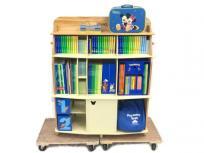 DWE MTDSG 2014年購入 棚付き 英語教材 ワールドファミリー ディズニー 英語 システム 幼児 英語教材
