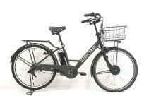BRIDGESTONE ブリヂストン ST6B48 STEP CRUZ e E.Xサニーピンク 3段変速 電動自転車 大型の買取