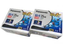 Panasonic BD-R LM-BR25LW11S 25GB×10枚 50GB×1枚セット 2個セット パナソニック