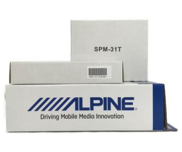 ALPINE X1-31T-NVE SPM-31T アルパイン ツイーター スピーカー 80系 カーパーツ カーオーディオ