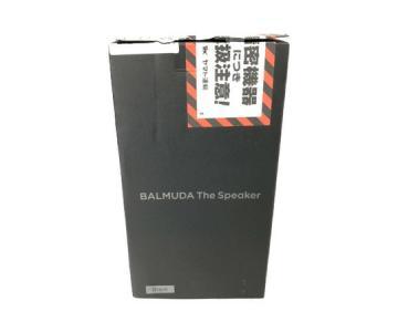 BALMUDA バルミューダ M01A-BK ワイヤレススピーカー 家電 音響機材