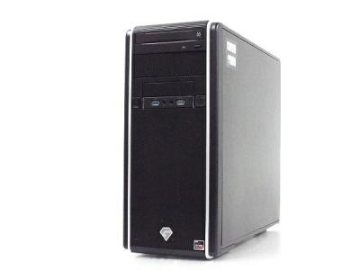 TSUKUMO G-GEAR GA5A-D194T/CP1 デスクトップ PC Ryzen 5 3600 3.6GHz 16 GB SSD 512GB HDD 2TB RTX 2070 SUPER Win 10 Home 64bit