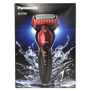 Panasonic ES-ST6S-R リニア シェーバー 3枚刃 髭剃り パナソニック 赤 2020年製