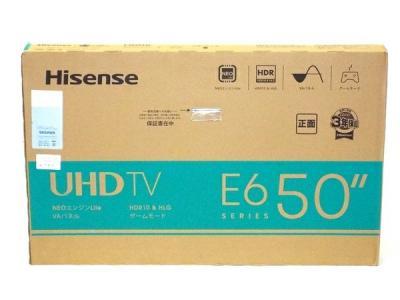 Hisence ハイセンス 50E6G 2021年製 50型 50V型 4K内蔵 液晶テレビ