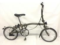 BROMPTON ブロンプトン 17' M2L ROWカラー 16インチ 折りたたみ 自転車の買取