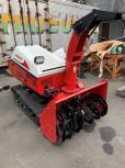 青森県 八戸市 ヤンマー 除雪機 JL-1510 15馬力 ディーゼル エンジン アワー 4.4h オーガ クローラー 冬 雪対策 農機具 輸出 直の買取