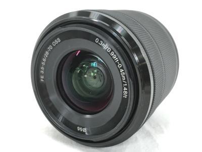 SONY SEL2870 FE F3.5-5.6 28-70mm OSS デジタル 一眼 ズームレンズ カメラ