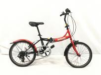 DUCATI ドゥカティ シマノ 6段変速 折りたたみ 自転車 SDF-206 20インチ 訳あり