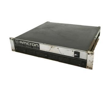 AMCRON micro tech 600 パワーアンプ