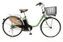 Panasonic パナソニック BE-ELD434G2 ViVi ビビ 電動 アシスト 自転車 2018年 モデル 24型 アップルグリーン 大型の買取