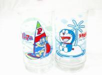 アサヒビール 三ツ矢サイダース バヤリースオレンヂ ドラえもん & パーマン レトロ グラス 2個入り 6セット