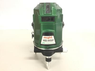 マイト工業 MGS-445GP 超高輝度LDグリーンラインレーザー電子整準方式 受光器 電動工具