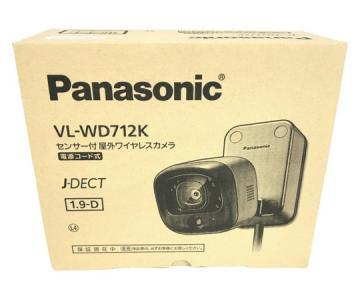 Panasonic パナソニック VL-WD712K センサー付 屋外 ワイヤレスカメラ 防犯