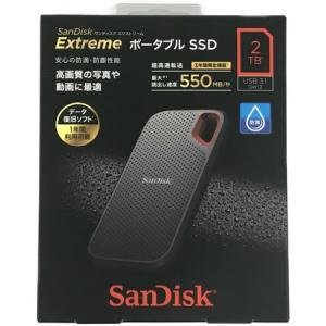 SanDisk SDSSDE60-2T00-J25 ポータブル SSD サンディスク
