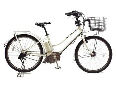 BRIDGESTONE ブリヂストン HYDEE.B 電動アシスト 自転車 26インチ ホワイト系 楽 大型
