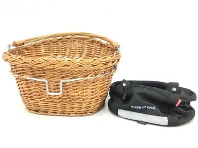 Klickfix Rixen&Kaul バッグ バスケット 2点 セット 自転車用 アタッチメント付