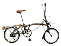 BROMPTON BS6102 折りたたみ自転車 レッド 英国製の買取
