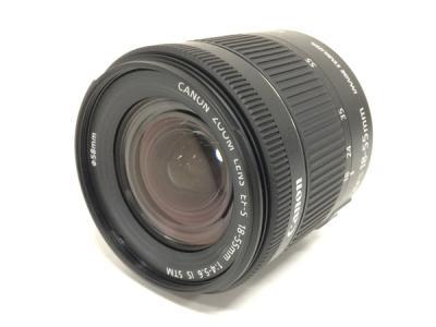 CANON ZOOM LENS EF-S 18-55mm 1:4-5.6 IS STM カメラ レンズ 一眼レフ キヤノン