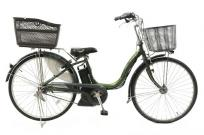 YAMAHA PA26NS PAS 電動アシスト自転車 26型 内装3段変速 ディープグリーン 楽 大型の買取