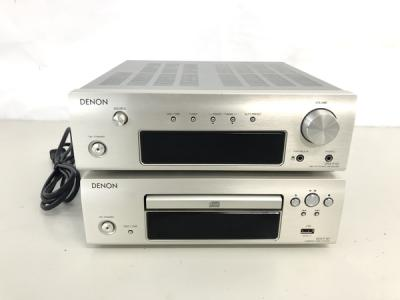 DENON F107 シリーズ DRA-F107 DCD-F107 コンポセット 音響機材