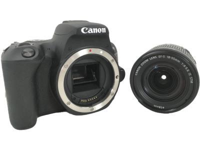 Canon 一眼 レフ EOS Kiss X9 レンズキット EF-S18-55 IS STM ブラック カメラ デジタル キャノン