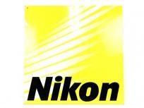 Nikon ニコン 展示会 プレート 看板 ポスター