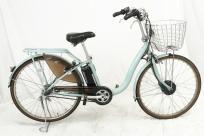 BRIDGESTONE FRONTIA F6LB47 フロンティアロング 26サイズ 電動自転車 スパークルシルバー 楽直の買取