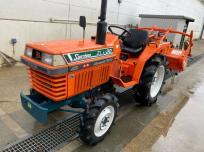 鳥取県 鳥取市 クボタ トラクタ ZL1-20D ロータリー RL1403 小型農業機械 耕耘 水田 畑作 直の買取