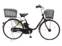 Panasonic パナソニック26型 電動アシスト自転車 ビビ・DX グラマラスパープル BE-END636P 楽 大型の買取