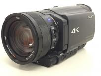 SONY HANDYCAM FDR-AX100 デジタル 4Kビデオカメラ 1.0型CMOSセンサ 光学12倍ズーム ソニーの買取