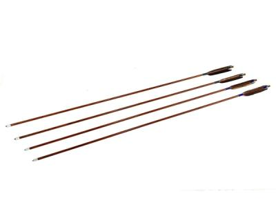 弓道 遠的矢 ハヤブサ カーボン 7622 巻糸緑 スポーツ 4本組