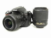 Nikon D5300 18-55mm F3.5-5.6G VR II 55-200mm F4-5.6G ED VR II ダブルズームキット2 デジタル 一眼レフ カメラ ニコンの買取