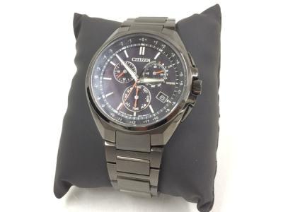CITIZEN シチズン ATTESA アテッサ ブラックチタンシリーズ エコドライブ CB5045-60E メンズ 腕時計
