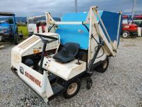 長野県 長野市 シバウラ 芝生清掃機 SS1000HDL エンジン始動OK 農機具 直の買取