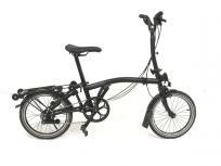 BROMPTON ブロンプトン M6R BLACK EDITION 16インチ 折り畳み 自転車 ミニベロ 2018年モデル キックスタンド付きの買取