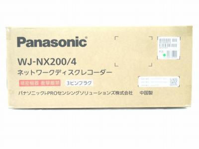 Panasonic WJ-NX200/4 ネットワークディスクレコーダー 4TB H.265カメラ対応 防犯カメラ パナソニック