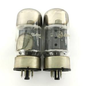 General Electric 6550A 真空管 ペア USA