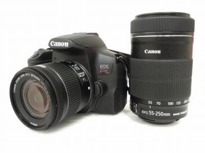 Canon EOS Kiss X10i 一眼レフ カメラ 18-55mm 55-250mm ダブル ズーム キット レンズ キヤノン